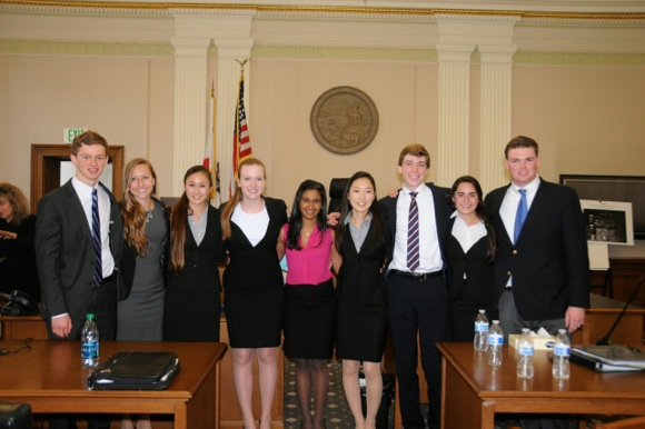 Post image for Menlo School's Mock Trial team wins state championship