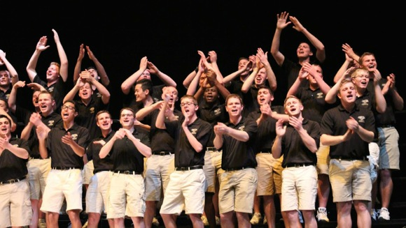 Post image for Spotted: Purdue Glee Club performing at Menlo-Atherton High School