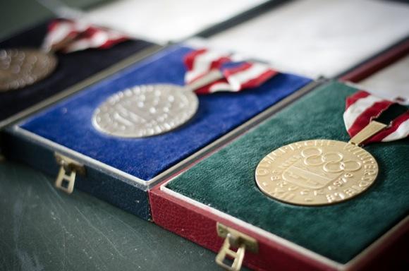Sheila Oshowicz medals