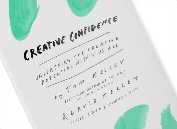 Tom Kelley talks about the notion of creative confidence and how he got it
