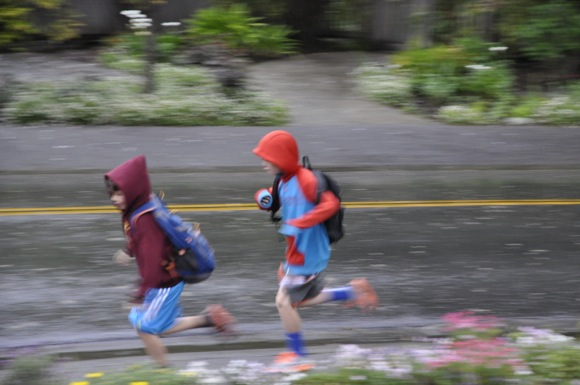 Squeezing out a little more rain on Menlo Park