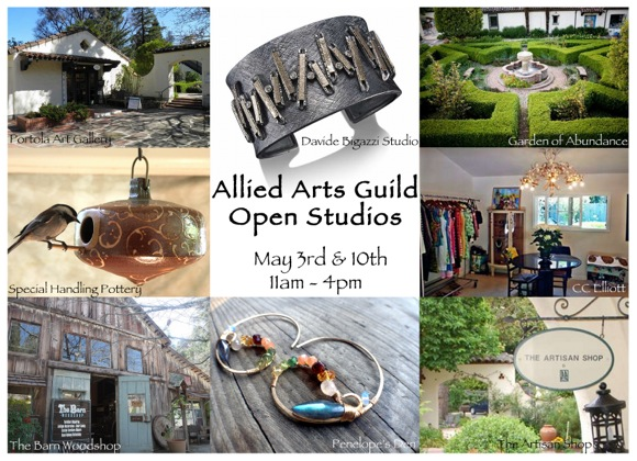 Post image for Allied Arts Guild hosts Open Studios on May 3 & 10