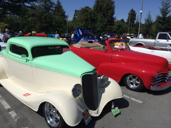 Post image for Classic car auto show at M-A today through 2:00 pm – and it's free!