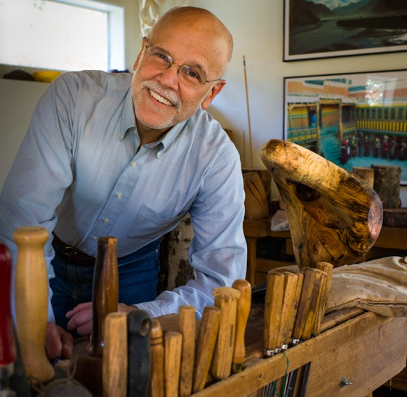 Bob Harris - MD, sculptor and archeologist