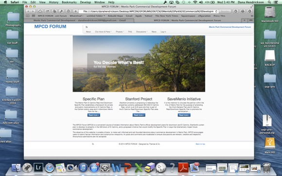 Post image for Menlo Park resident launches website to serve as discussion forum for local development projects