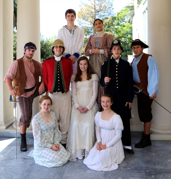 Arrr! The Pirates of Penzance invades Menlo School for two weekends in May