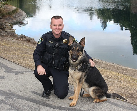 MPPD's newest recruit hails from the Czech Republic – and has four legs!