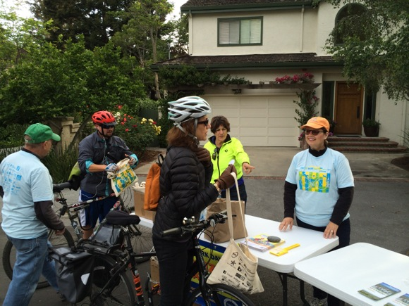 Post image for Menlo Park hosts 9 energizer stations on Bike to Work Day, marking the 20th anniversary