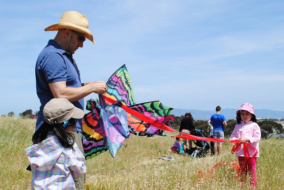 Kite Day at Bedwell Bayfront Park