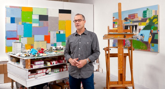 Post image for Artist Mitchell Johnson talks about his current exhibits and new book