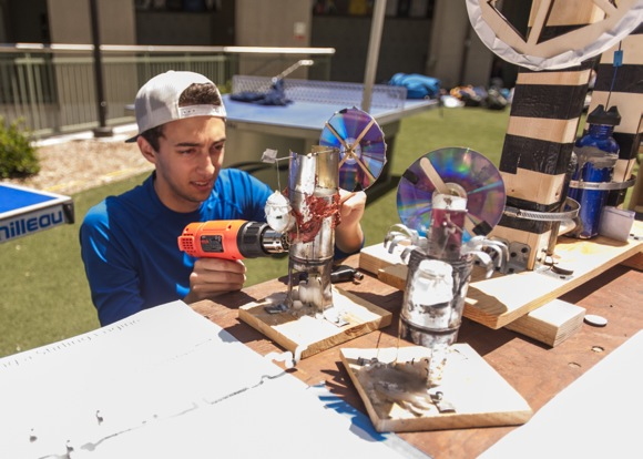 Post image for Menlo School students display inventions and projects in advance of upcoming Bay Area Maker Faire