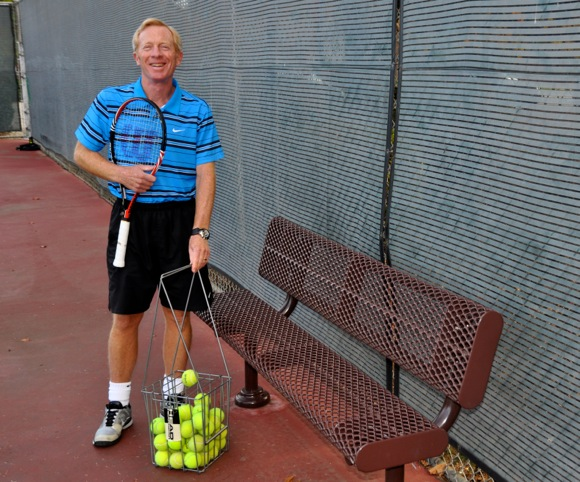 Post image for Tennis teaching pro Marcus Cootsona writes first novel – Slammin'