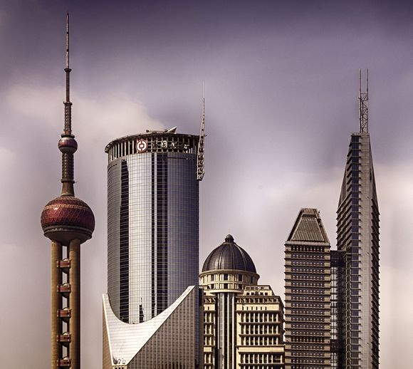 Pudong II by Sanford Carnahan