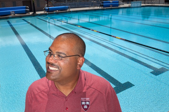 Ted Minnis returns to Menlo Park, recruiting water polo players for Harvard Univeristy