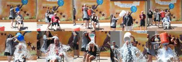 Post image for Spotted: ALS ice bucket challenge at Menlo-Atherton High School