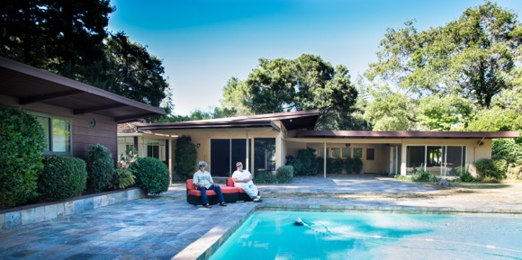 Modern home in Atherton's Maple Manor gets spruced up, not scraped