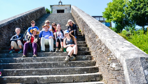 Summer adventure: Walking the Camino de Santiago with Trinity Church group