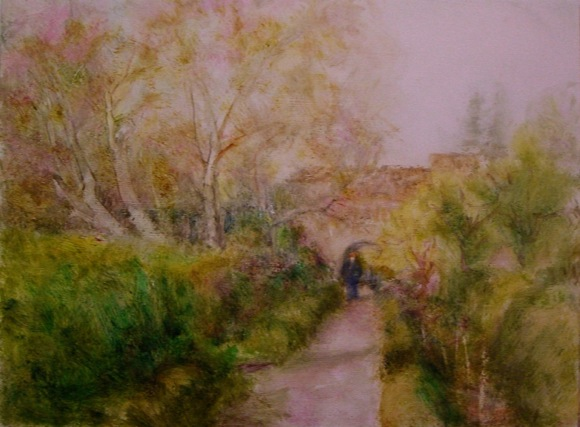 Post image for Menlo Park artist Carolyn Jones' paintings are featured at Portola Art Gallery in September