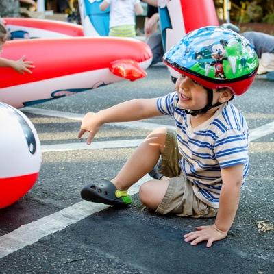 Fitness vertical_boy helmet