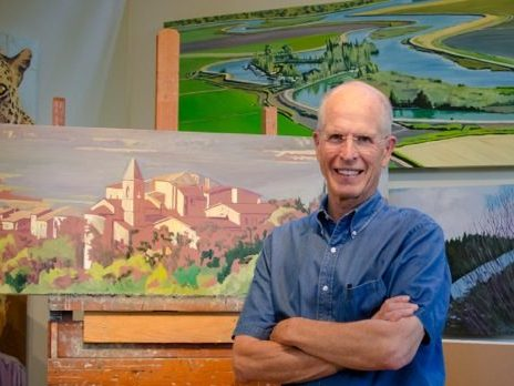 Exhibit of Jim Caldwell paintings at Pacific Art League in October