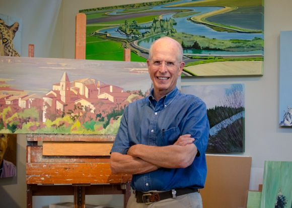 Artist, architect, teacher – Jim Caldwell continues a lifetime of painting