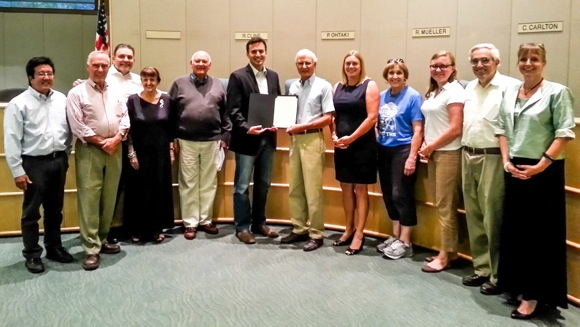Post image for City of Menlo Park honors the Menlo Park Historical Association