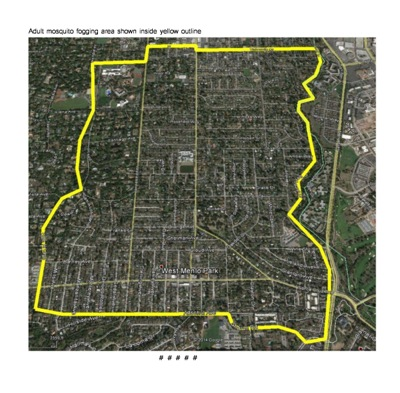 Post image for West Nile Virus detected in mosquitos in Menlo Park – fogging scheduled for Aug. 11