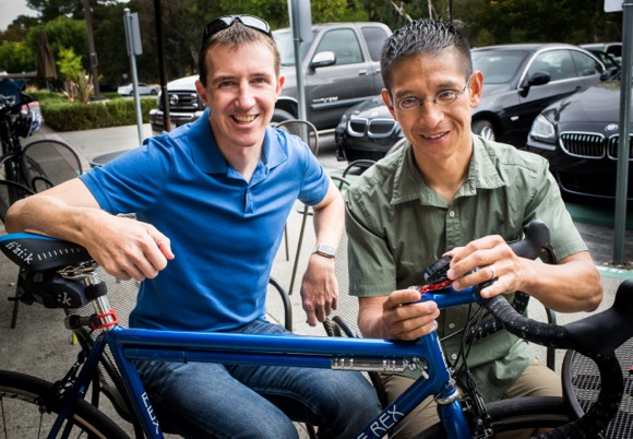 Bike+ cycling app developed by two accomplished cyclists to capture the whole ride experience