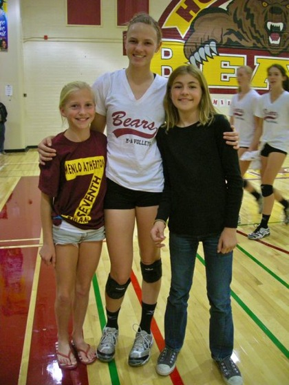 Post image for Menlo-Atherton High School girls volleyball hosts community clinic on Sept. 26