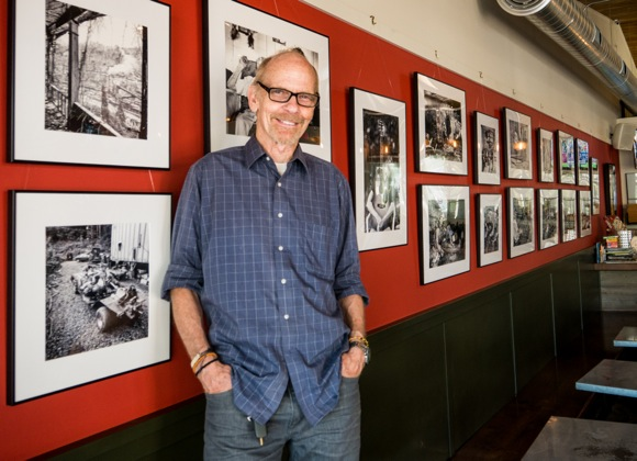 Exhibit of photographer Neal Menschel's work is on display at Freewheel Brewing Company