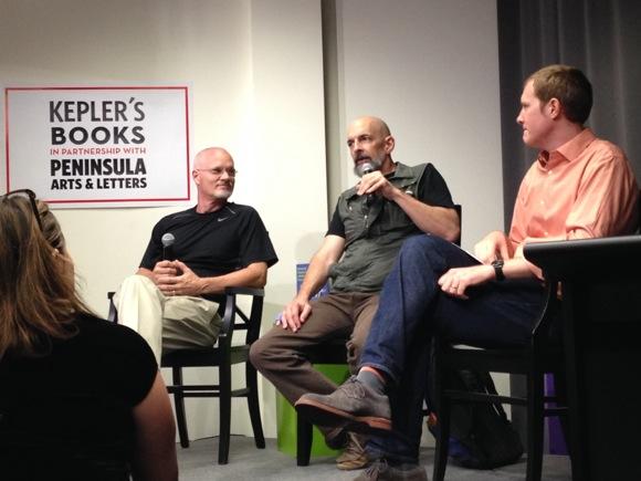 Spotted: Author Neal Stephenson speaking at Kepler's in Menlo Park
