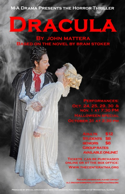 Interview with a vampire: Dracula comes to Menlo-Atherton High School for six performances