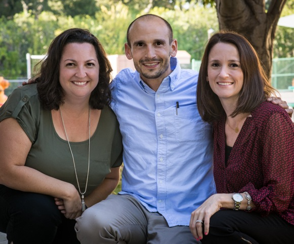 Raised in Menlo Park, three siblings grow up and become teachers in Menlo Park