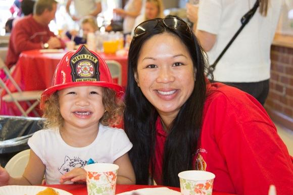 Pancake Breakfast at Menlo Park fire station raises $9,000 for Alisa Ann Ruch Burn Foundation