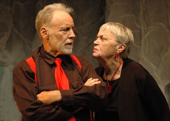 Stagebridge actors Terry Stokes and Joanne Grimm