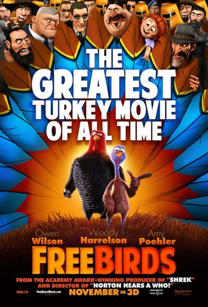 Post image for Free screening of the movie Free Birds on Nov. 20