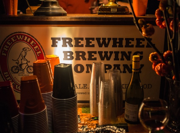 Freewheel Brewing at Halloween