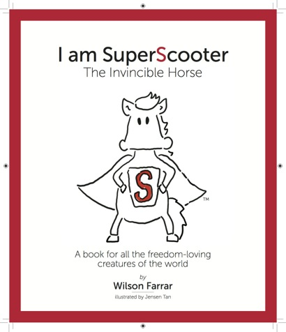Post image for Rescue horse Scooter is inspiration for children's book
