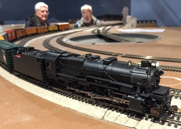 Post image for Preview of new model railroad in Menlo Park scheduled for December 6 & 7