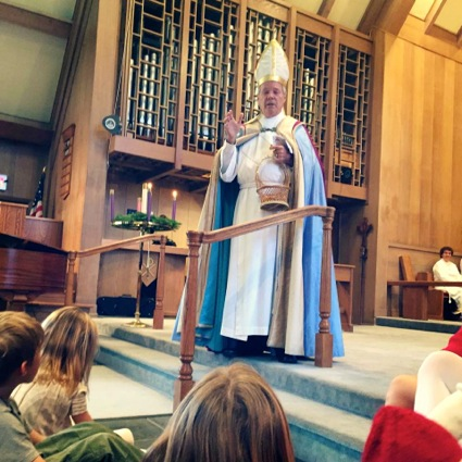 Post image for Spotted: St. Nicholas at Trinity Church in Menlo Park