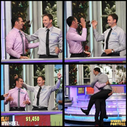 Post image for M-A teacher Chris Rubin appears on Wheel of Fortune with his brother Josh