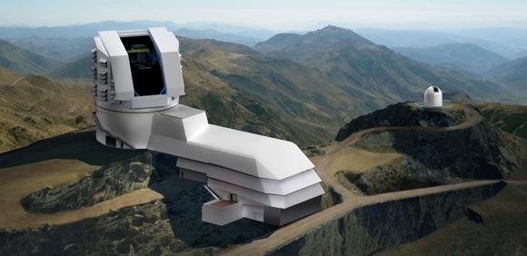Rendering of LSST observatory