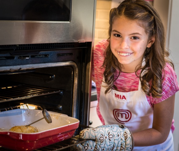 Mia Wurster is a contestant on MasterChef Junior season three, airing on Tuesday, Jan. 6