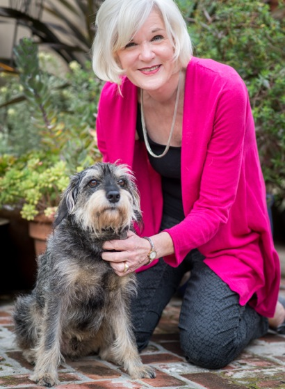 Adopted Muttville dog Boris finds happy home with Menlo Park resident Carol Mince