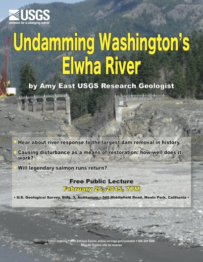 Post image for USGS evening lecture on Feb. 26 looks at undamming Washington's Elwha River