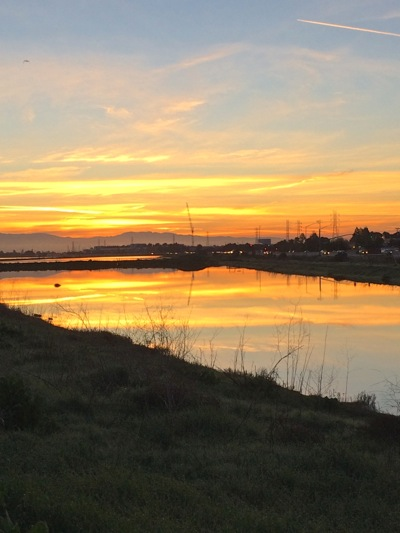 Post image for Spotted: Pretty sunrise at Bedwell Bayfront Park in Menlo Park