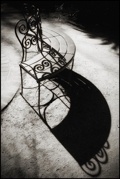 Post image for Spotted: Swirly bench at Allied Arts in Menlo Park