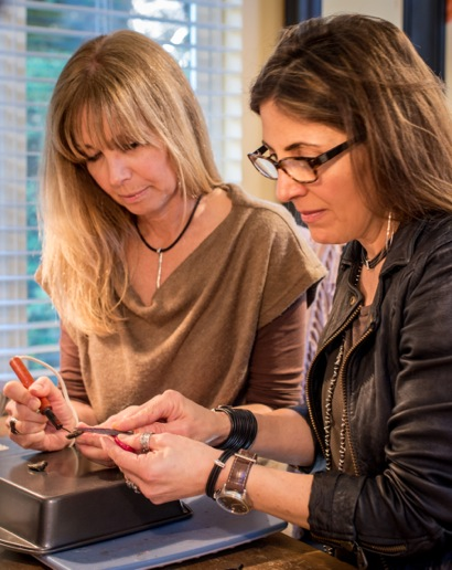 From an Atherton studio, comes Lauren & Gracia Jewelry, sold locally and nationally
