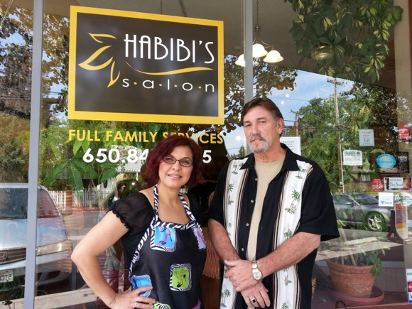 Post image for Local Lions Club partners with Habibi's Salon in Menlo Park to provide makeovers for female veterans