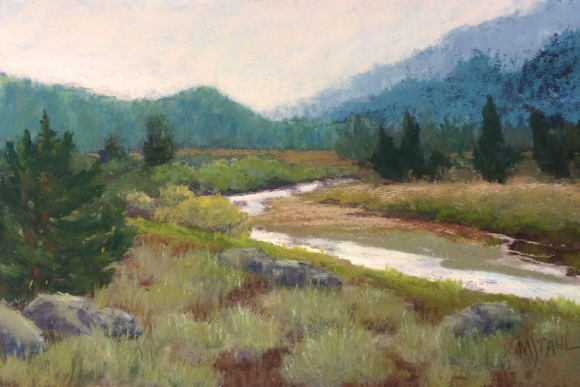 Post image for LandEscapes by Mary K. Stahl is featured exhibit in April at Portola Art Gallery